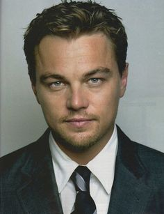 """Leonardo Di Caprio has definitely grown on me.  My favorite movie is, """"The Departed"""", and he was just absolutely FABULOUS in it!"""