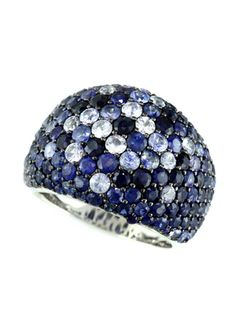 EFFY Ombre Blue Sapphire Ring