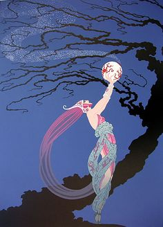 erte from the art deco period