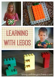Learning with Legos | blog.ashleypichea.com