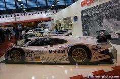 PORSCHE 911 GT1 (3164 F6 Bi-turbo) de 1998 de Laurent Aïello (F), Allan McNish (GB) et Stéphane Ortelli (F). Vaiqueurs aux 24h du Mans