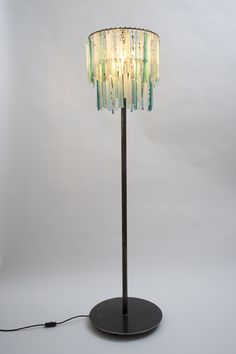 Lovers lights recycled glass chandeliers on pinterest for 4 tier floor lamp