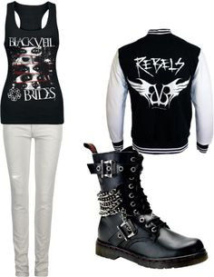 """Black Veil Brides"" by rickieleebelanger on Polyvore"