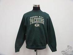 Vtg 90s Pro Player Green Bay Packers Crewneck Sweatshirt sz XL Extra Large SEWN Vintage by TCPKickz on Etsy