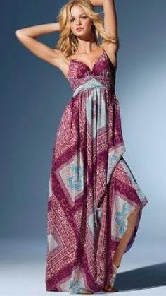 Bello este vestido ideal para el verano