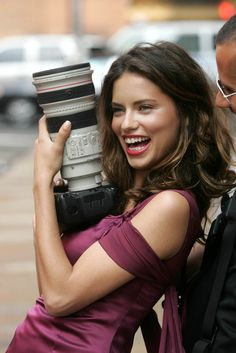 Adriana Lima & Canon #model #camera