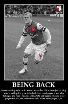 Being Back - Jack Wilshere #arsenal #COYG