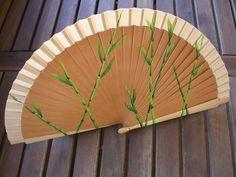 abanico pintado a mano / hand painted fan