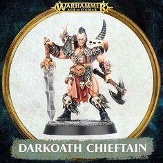 Warhammer Quest Silver Tower Darkoath Chieftain