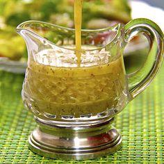 Avacado and Lemon vinaigrette