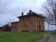 Prospect Place in Dresden, OH.  This was once part of the underground railroad.