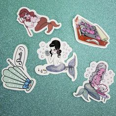 Under The Sea Sticker Collection Valfre.com #valfre