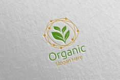 Organic Botanical Gardener Logo 1 by denayunebgt on @creativemarket