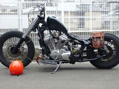 <3ly Shadow 600. ^.^ on hard tail frame