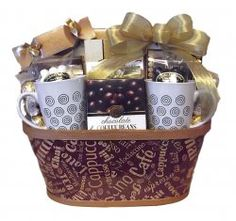 Coffee Lover Gift Basket by Thoughtful Expressions. Canada wide shipping.