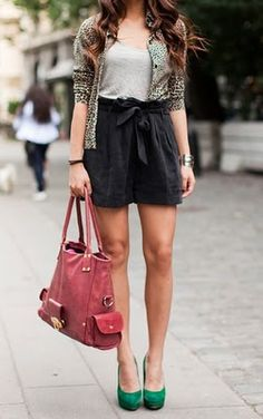 Cute combo and nice pumps