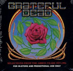 For Sale - Grateful Dead Selections From The Arista Years 77-95 USA Promo  CD album (CDLP) - See this and 250,000 other rare & vintage vinyl records, singles, LPs & CDs at http://eil.com