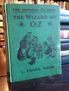 1939 The Original Oz Book The Wizard of Oz on Etsy, $400.00