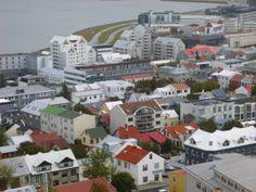 Colourful Reykjavik.