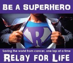 Relay for life superhero