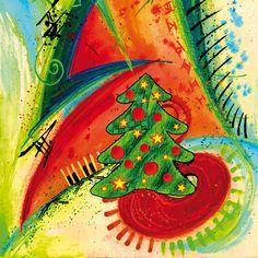 Afbeeldingsresultaat voor kerstkaarten abstract