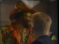 Slim Jim Commercial with Macho Man in a Library from 1993