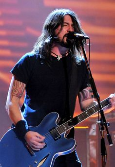 Dave. 'Nuf said. Love the Foo Fighters!