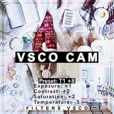 VSCO Cam Filter T1 +8 by filters.vsco