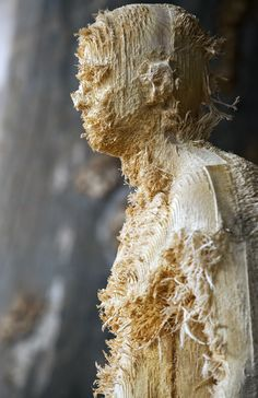 5) Aron Demetz - The Tainted (2012) - Distressed wood