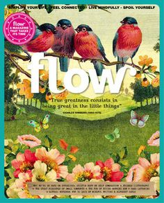 Flow Magazine 5 In this issue: Stories about why we're always so hard on ourselves, friends listography, the great pleasures of small comforts, the fun of buying nothing new and hand lettering. Plus: a notebook and alphabet cards. Illustrations, Mail Art, Graphic Design Illustration, Im Not Perfect, 1, Mindfulness, Etsy, Vintage, Magazines