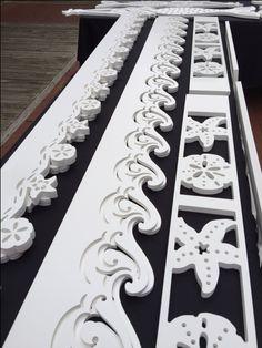 PVC House Trim, porch trim, fence trim, window trim, accent trim.