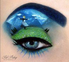 #fantasyeyemakeup #eyefantasy #fantasy #eyemakeup #eyeliner