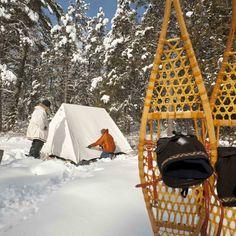 Winter Camping in the BWCA