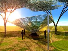 WatAir Dew Harvesting System Provides Safe Drinking Water #architecture trendhunter.com