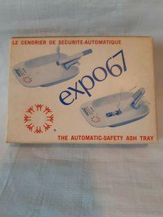 Vintage Montreal World Fair Expo 67 Terre des Hommes , ashtray with box . | eBay