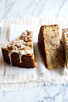 Brown Butter Walnut Crumb Cake