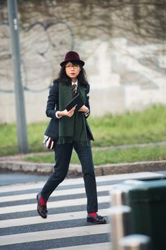 Janie Cai - Managing Editor at Esquire Singapore, MFW, Milan Men's Fashion Week Fall/Winter 2015