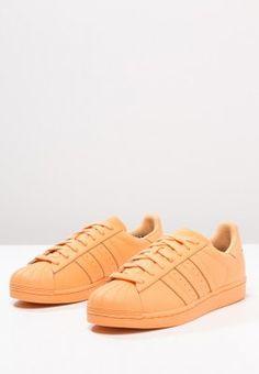 adidas Originals - SUPERCOLOR SUPERSTAR - Sneakers laag - pumpkin