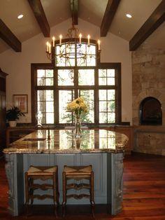 French chateau beautiful kitchen
