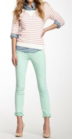 Mint To Be Jeggings