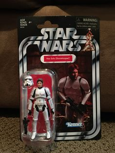 Hasbro Star Wars Vintage Collection - Han Solo (Stormtrooper) -Target Exclusive Sealed, New in box, never opened. Please see pictures for condition. Star Wars Han Solo, Star Wars Toys, Action Figures, Sci Fi, Lunch Box, Conditioner, Target, Stars, Pictures