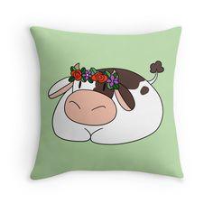 Flower Crown Cow
