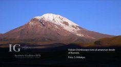 El volcán Chimborazo está ubicado 150 km al sur de Quito y con sus 6268 msnm, es el volcán más alto de los Andes del Norte.