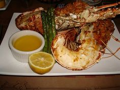 Grilled Caribbean lobster yum