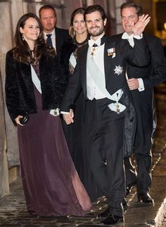 On December 20, 2016, King Carl Gustaf and Queen Silvia of Sweden, Crown Princess Victoria and Prince Daniel of Sweden, Prince Carl Philip and Princess Sofia of Sweden, Princess Madeleine of Sweden and Mr Christopher O'Neill attended the Swedish Academy's formal gathering at the Stock Exchange in Stockholm, Sweden.