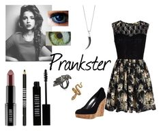 """""""First Prank ~ Capri Florence Sicily Slytherin-Ravenclaw ~ Second Outfit"""" by wynterice on Polyvore"""