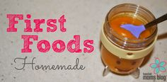 First Foods Homemade