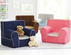Our Exclusive Grab N Go Chairs. This Cushy, Super Light Chair Is Easy For  Your Little One To Tote From Room To Room.