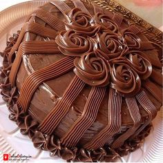 Send Marriage Anniversary Cakes From Online Cake Delivery in Anantapur Cake Decorating Frosting, Cake Decorating Designs, Creative Cake Decorating, Cake Decorating Videos, Birthday Cake Decorating, Cake Decorating Techniques, Creative Cakes, Chocolate Cake Designs, Chocolate Truffle Cake