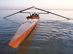 Rowing shell. Would love to eventually build my own. #Rowing #Crew